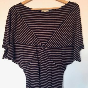 Anthropologie Bordeaux Starred Entry Tee (Small)
